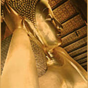 Temple Of Reclining Buddha  Art Print