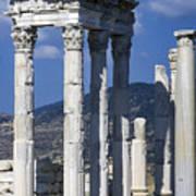 Temple Of Trajan View 1 Art Print
