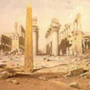 Temple Ruins  Art Print