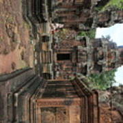 Temples Siem Reap Cambodia Worship  Art Print