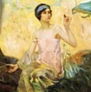 Tempting Sweets 1924 Art Print