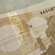 Ten Euro Note Art Print