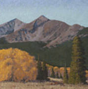 Ten Mile Autumn Art Print