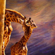 Tenderness Painted Art Print