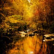 Tennessee Mountains Autumn Art Print