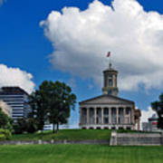 Tennessee State Capitol Nashville Art Print by Susanne Van Hulst