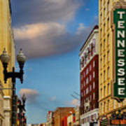 Tennessee Theatre Art Print by Steven Michael