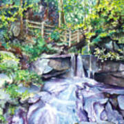 Tennessee Waterfall Art Print