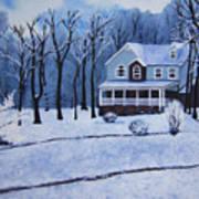Tennessee Winter In The Smokies Art Print