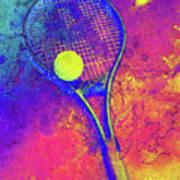 Tennis Art Version 1 Art Print