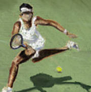 Tennis In The Sun Print by Paul Mitchell