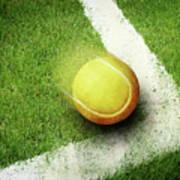 Tennis Point Art Print