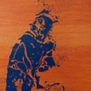 Tennis Splatter Art Print