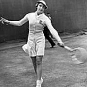 Tennis Star Katherine Stammers Art Print