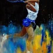Tenniswoman 57 Art Print
