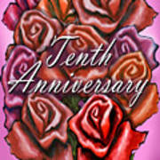 Tenth Anniversary Art Print