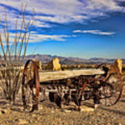 Terlingua Ghost Town 2 Art Print