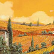 terra di Siena Art Print by Guido Borelli