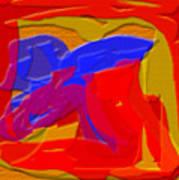 Terra Planet Art Print