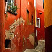 Terracotta Alley Art Print