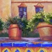 Terracotta And Tiles Art Print