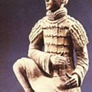 Terracotta Soldier Art Print