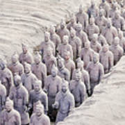 Terracotta Warriors Art Print