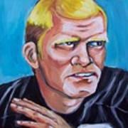 Terry Badshaw Rookie Art Print