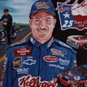 Terry Labonte Art Print