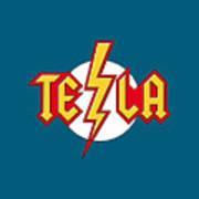 Tesla Bolt Art Print