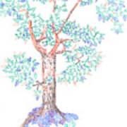 Tesselated Tree Art Print