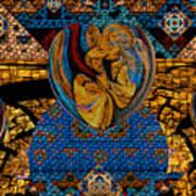 Tesserae 5 Art Print