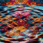 Tesseralien Griddle Art Print