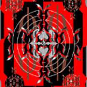 Test Pattern 4 Art Print