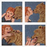 Tete A Tete Art Print by Holly Wood