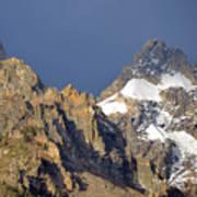 Teton Peaks Art Print