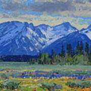 Teton Summer Art Print