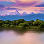 Teton Valley Paradise  Art Print