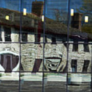 Tett Centre Reflection Art Print