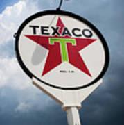 Texaco Star Art Print