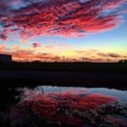 Texan Sky Art Print