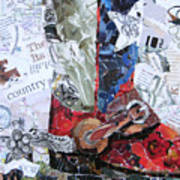 Texas Boot Art Print