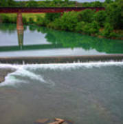 Texas Bridge Art Print