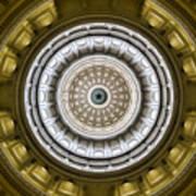 Texas Capitol Dome Art Print