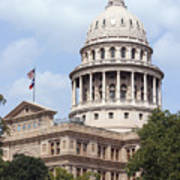 Texas Capitol Art Print