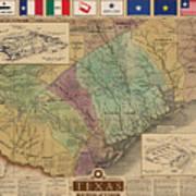 Texas Revolution Art Print