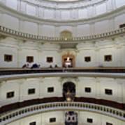 Texas State Capital  Art Print