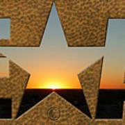 Texas Sunrise Art Print