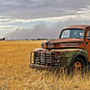 Texas Truck Ws Art Print