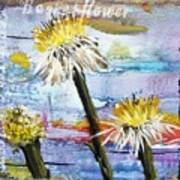 Texas Wildflowers Tp A E Art Print